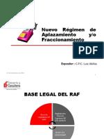 Nuevo Régimen de Aplazamiento y Fraccionamiento - RAF.pdf