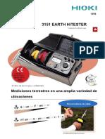 ft3151 Manual Dela Puesta a Tierra en Español