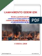 Informe de CODESA sobre Gdeim Izik
