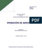 DOC8168 _Operación de aeronaves