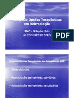 D202 Opções Terapêuticas em Reirradiação SNC