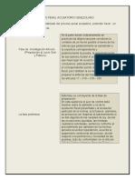 GUIÓN DEL PROCESO PENAL ACUSATORIO VENEZOLANO