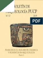 Boletin de arqueologia PUCP 27 Avances en el analisis de ceramica y pigmentos en arqueologia parte 2