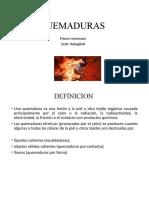 QUEMADURAS expo reba sabado