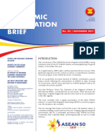 2017, ASEAN ECONOMIC INTEGRATION BRIEF