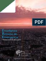 Enseñanza Remota de Emergencia - Textos para la discusión