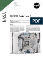 Nasa Facts Express Racks 1 and 2