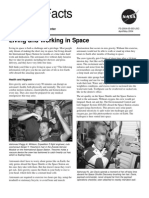 NASA Facts Living and Working in Space 2004