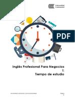 Tiempo de Estudio ASUC00979_INGLÉS PROFESIONAL PARA NEGOCIOS I_015