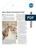 NASA Facts Space Station Processing Facility