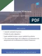 Corrección Monetaria y Solución Ayudantía 7