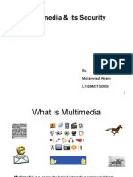 Multimedia & Its Security