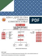 ADA6 Qué es una Empresa Constructora