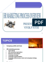 HR Marketing Process