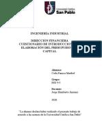 CUESTIONARIO Introducción a la elaboración del presupuesto de capital - COILA PANCCA MARIBEL.docx