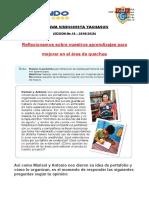 SESIÓN DE REFLEXION PARA QUECHUA1
