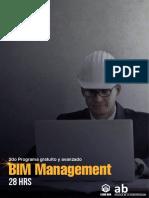 Brochure BIM Management Setiembre