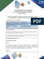 Guia de actividades y Rúbrica de evaluación - Unidad 2 - Tarea 2 - Comprendiendo la importancia de La Cadena de Suministro.1