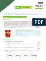 FICHA CIENCIA Y TECNOLOGIA SESION 2 EXP 1 SEGUNDO GRADO SETIEMBRE