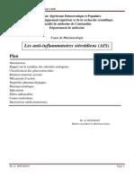 Les anti-inflamatoires non stéroïdiens