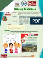 CIENCIA Y TECNOLOGÍA 5 Y 6  28 SETIEMBRE