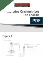 Métodos Gravimétricos de análisis