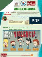 CIENCIA Y TECNOLOGÍA 3 Y 4 ABDEL 14 SETIEMBRE