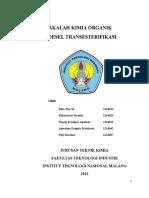 MAKALAH_KIMIA_ORGANIK_TRANSESTERIFIKASI