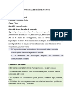 proiect-a-6a-les-adjectifs-possessifs