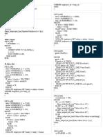 PL SQL Programs