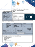 Guía para el desarrollo del componente práctico - Tarea 2 - Componente Práctico vectorización de imagen gráfica