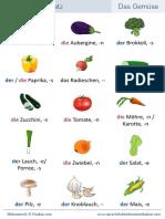 Wortschatz-Gemüse