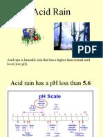 LECTURE 6- ACID RAIN