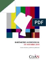 Barómetro Audiovisual de Navarra 2010
