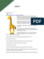 La jirafa vanidosa