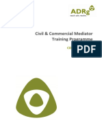 ADRg - Civil & Commercial Training Manual