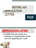 Media Pembelajaran Materi Application Letter