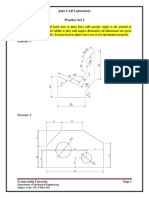 Auto CAD Lab Practice Set 2