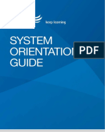 System Orientation Guide v1.3 - May 2017