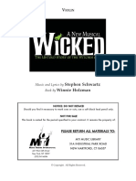 Musical - Wicked