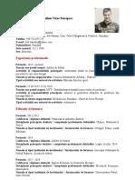 Curriculum Vitae VALENTIN DEDIU