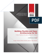 HR Building Flexible and Open Architectures for 5G