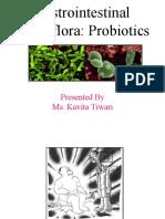 Gastrointestinal Microflora ppt 19.1.11.