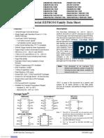 i2c serial ee family data sheet 21930c