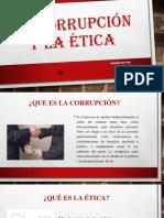 LA CORRUPCION - EXPOSICION  estudiantes