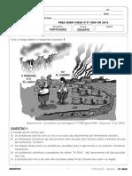 simulado Português 2020
