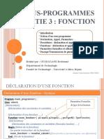 0014- Sous-programmes (Partie 3 - Fonctions)
