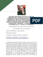 La Muerte de Allende, según Castro
