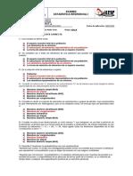 EXAMEN Estadistica inferencial I - UNIDAD 1