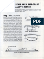 Safe-Guard Fallout Shelter Installation Guide (1961)